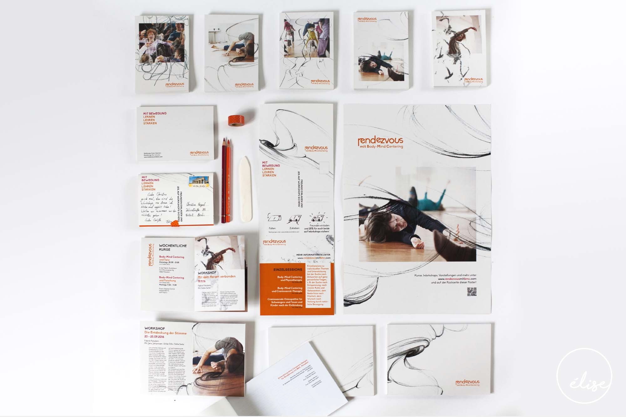 Corporate Design für workshop Reihe