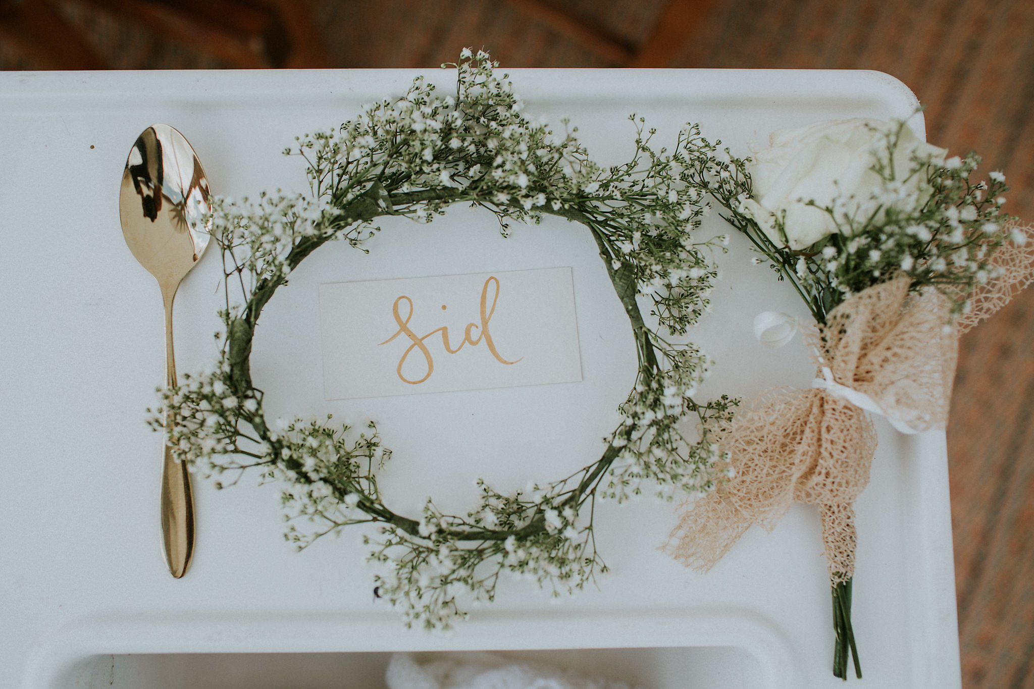 Place Name Bridemaid Lettering