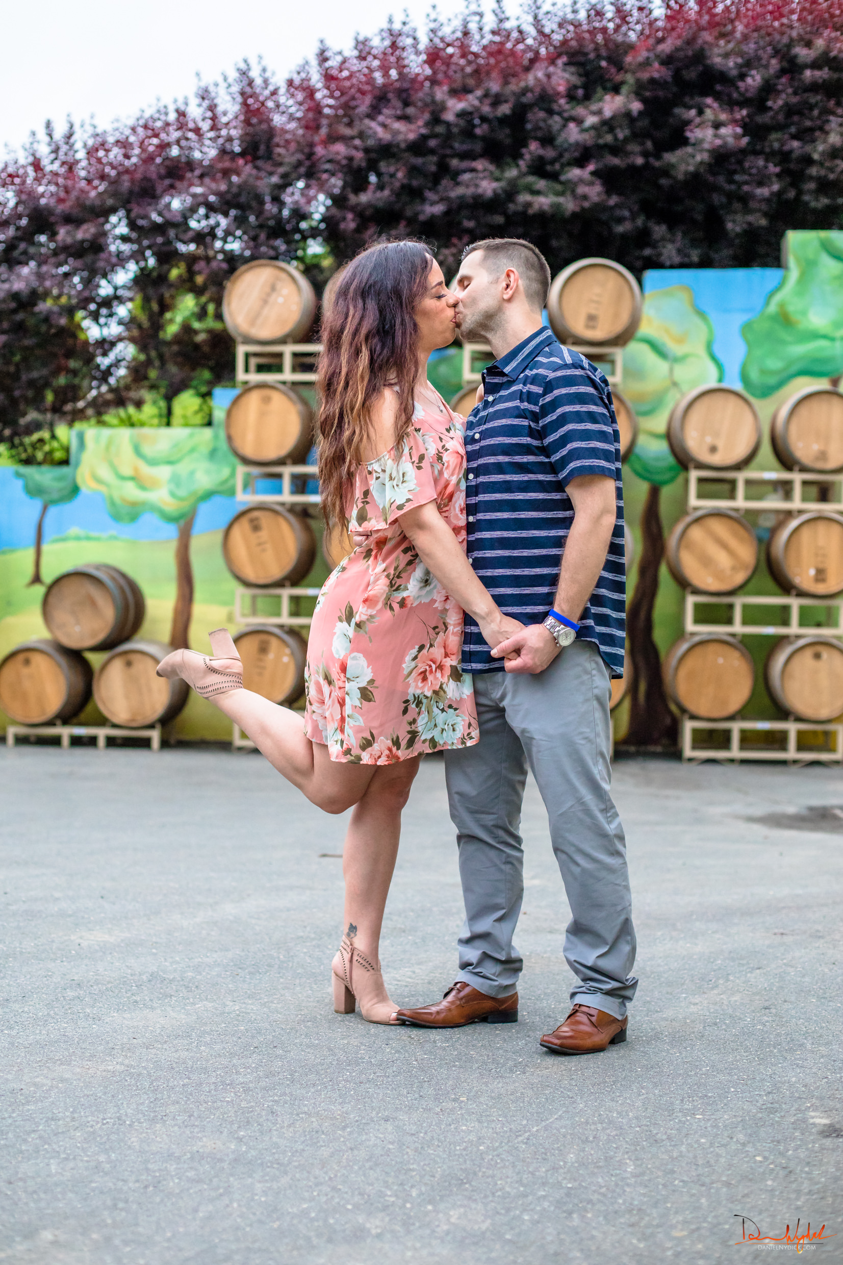 engagement session candid