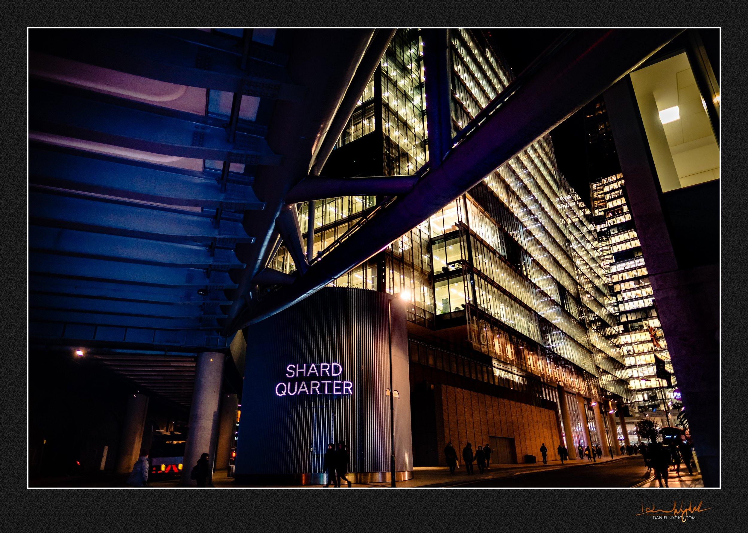shard quarter, under the bridge, architecture