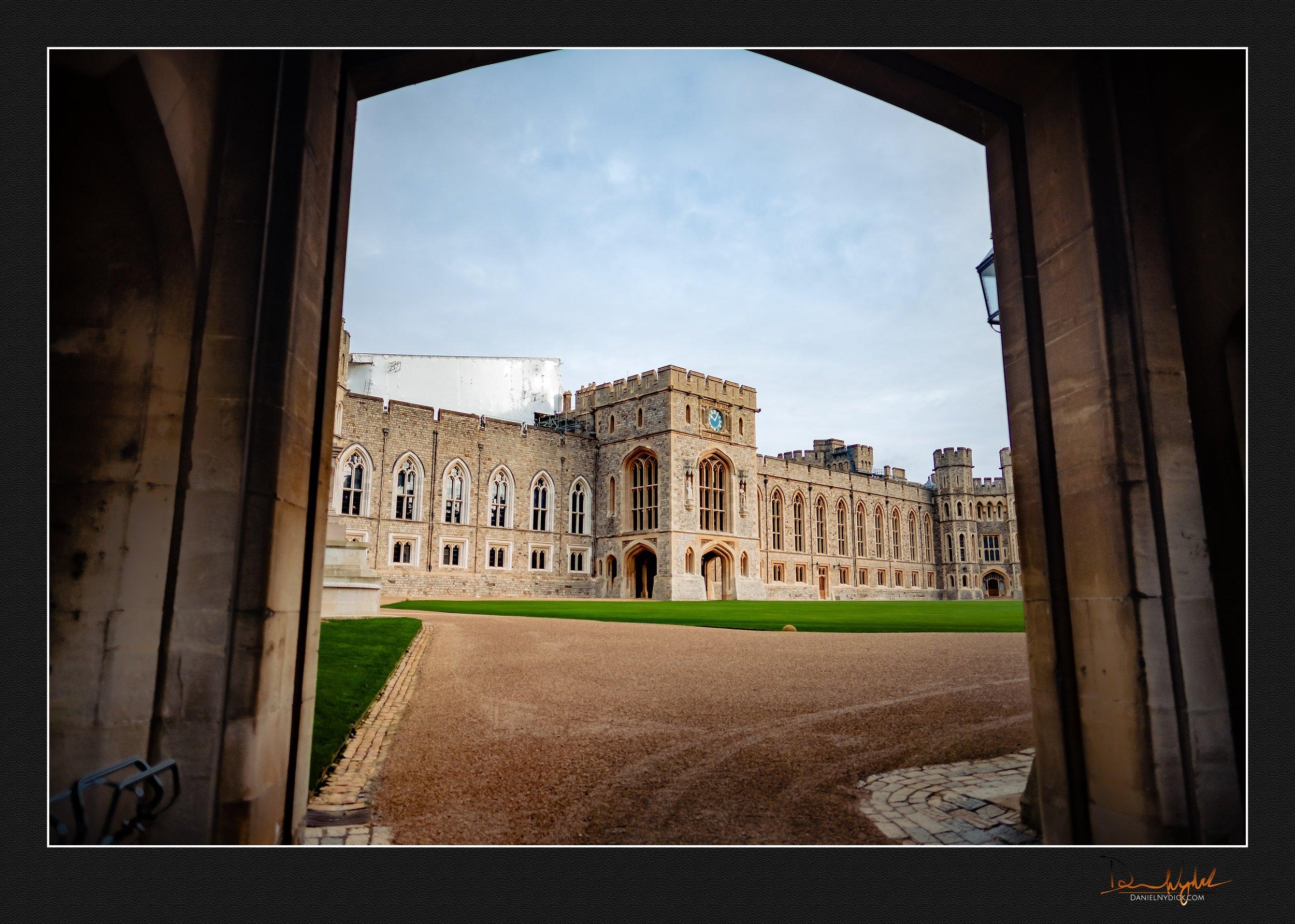 windor castle, wide view,