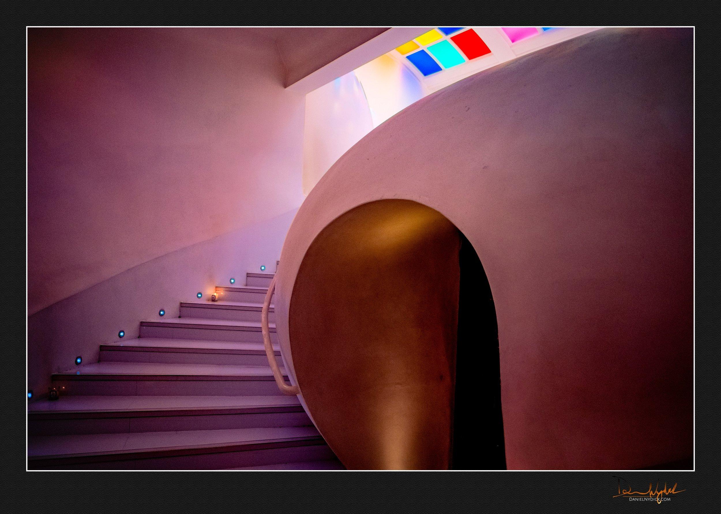 sketch london, pod toilet, restaurant, stairs
