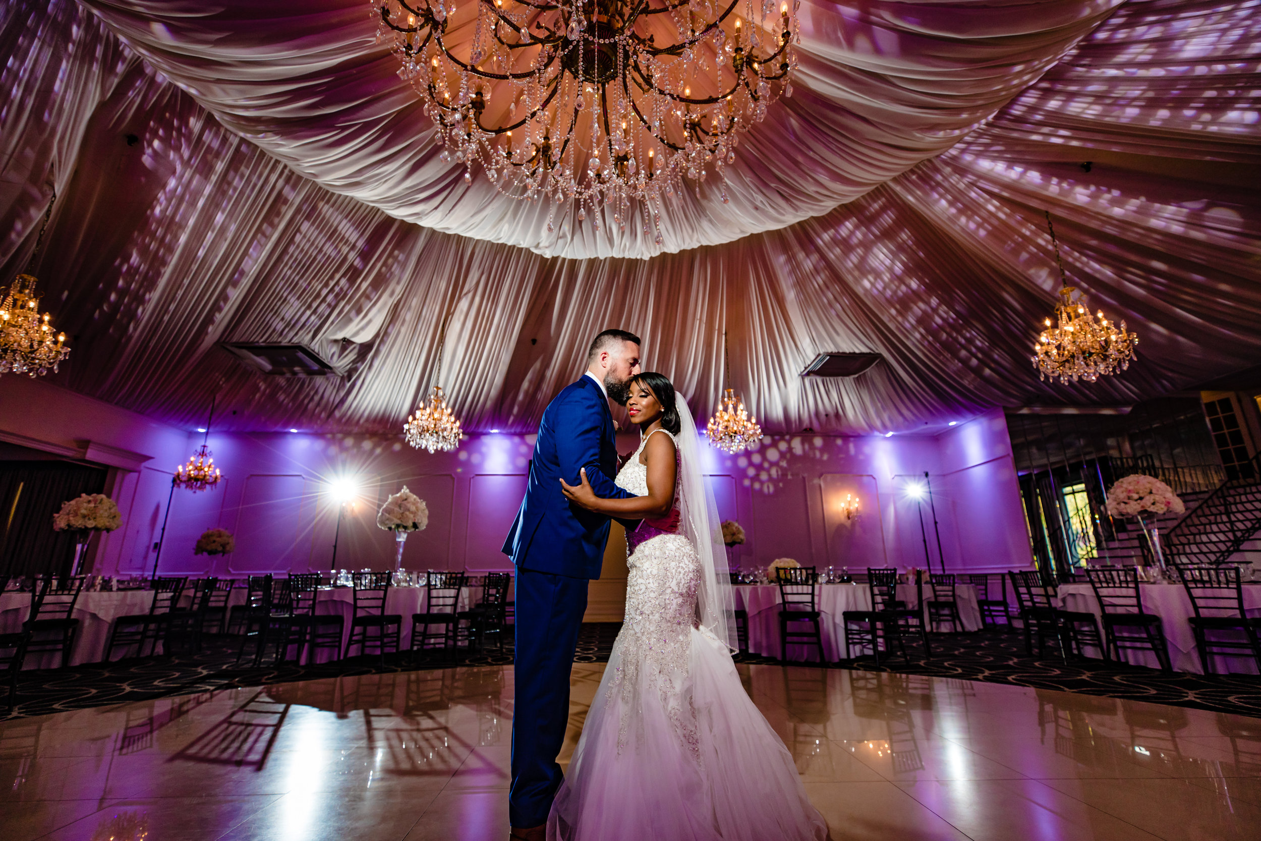 epic ballroom first wedding dance gramercy lakeside manor