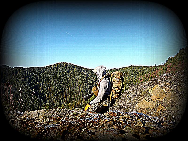 On the mountain with the Duckworth Vapor Hoody