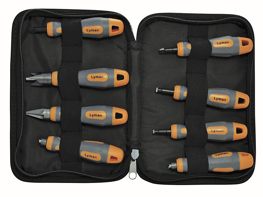 Lyman's case prep toolkit has everything you need and comes in a convenient case.