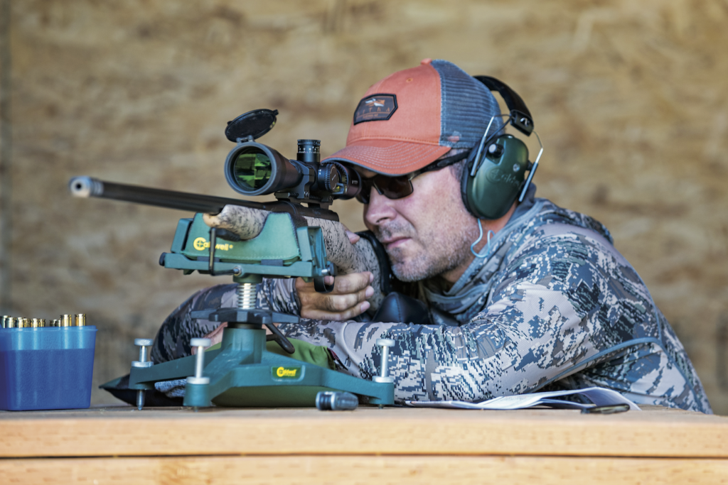 Load testing is tedious and time-consuming, but seeing tight groups develop is rewarding. The extra trigger time spent never hurts when it comes down to making a critical shot during the hunt.