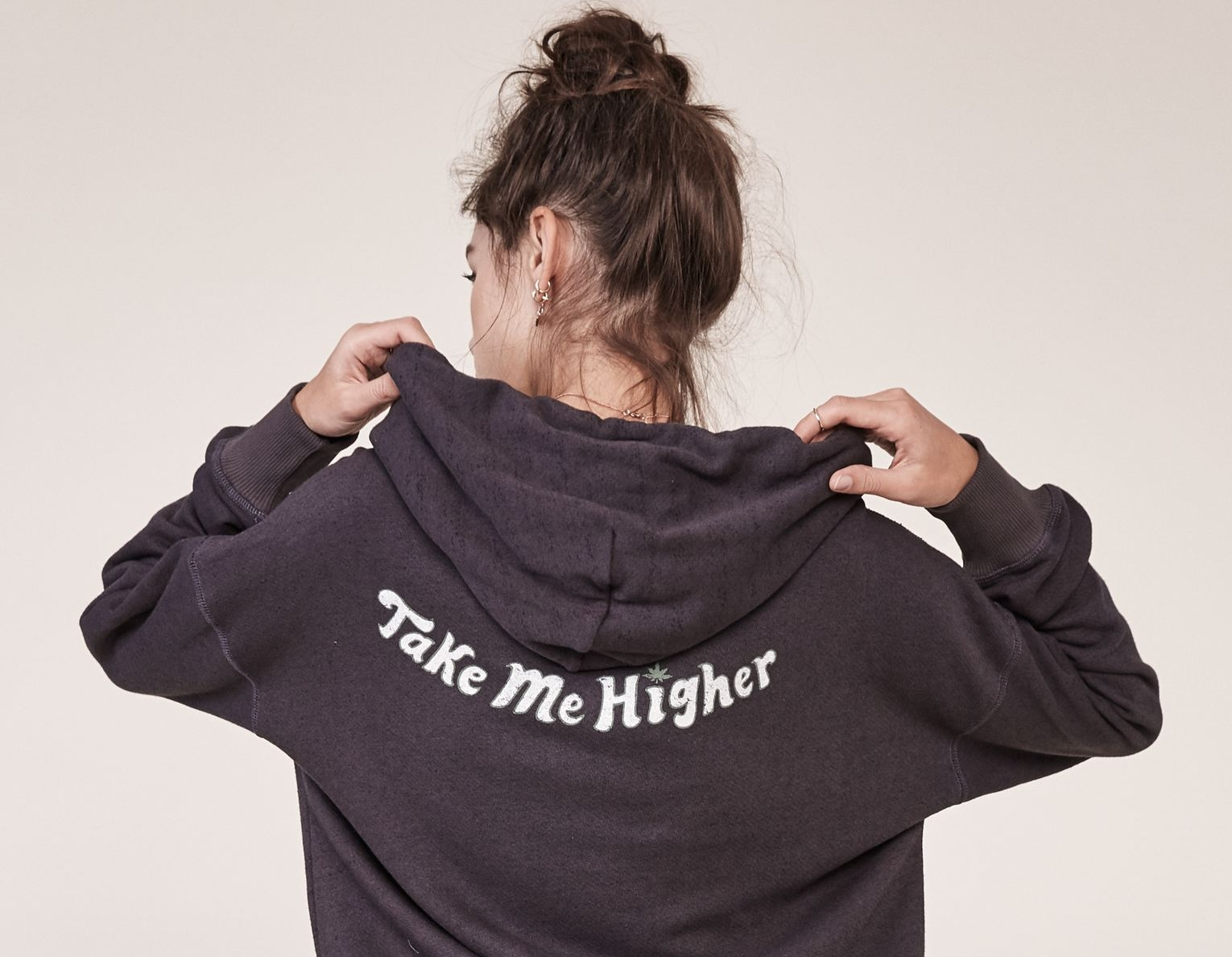 "(The ""Take Me Higher"" Noah hoodie by Mate the Label, available at Bohemian Bias.)"