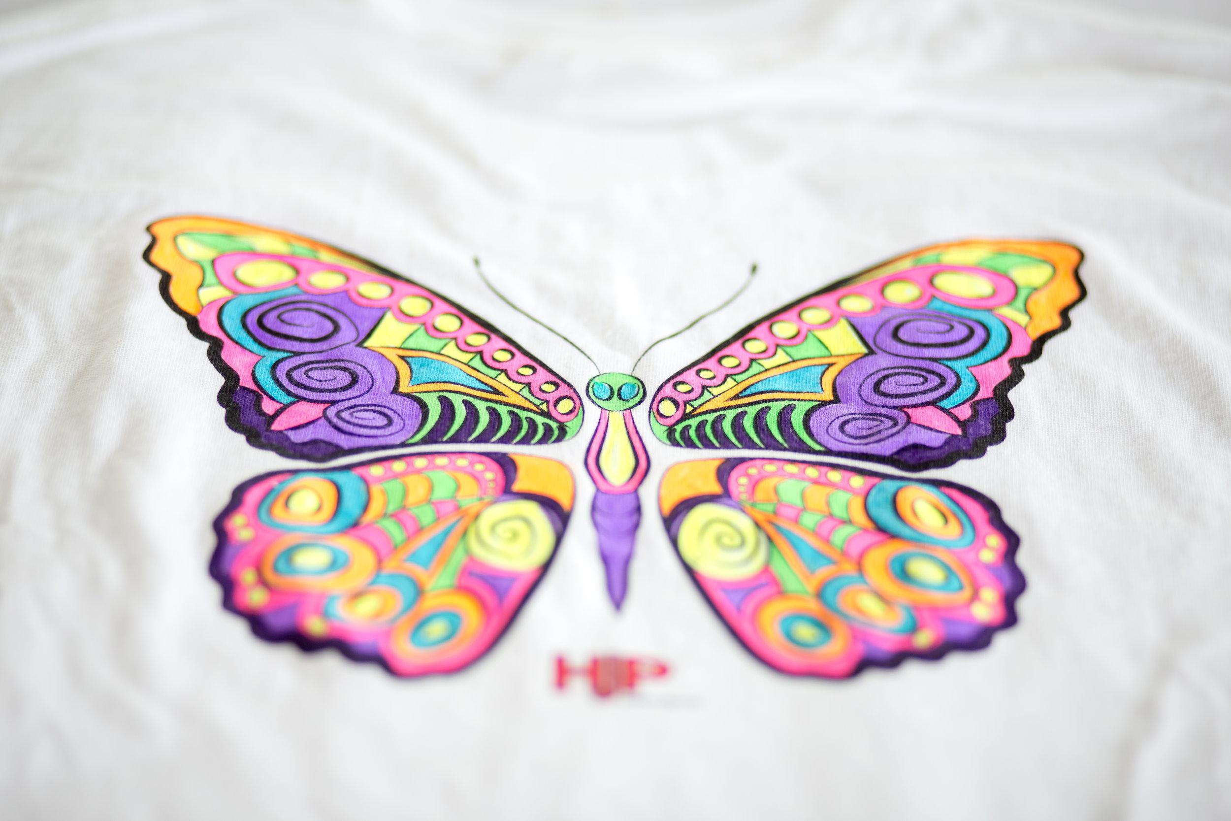 Hoosier Jiffy Print: Zentangle T-Shirt