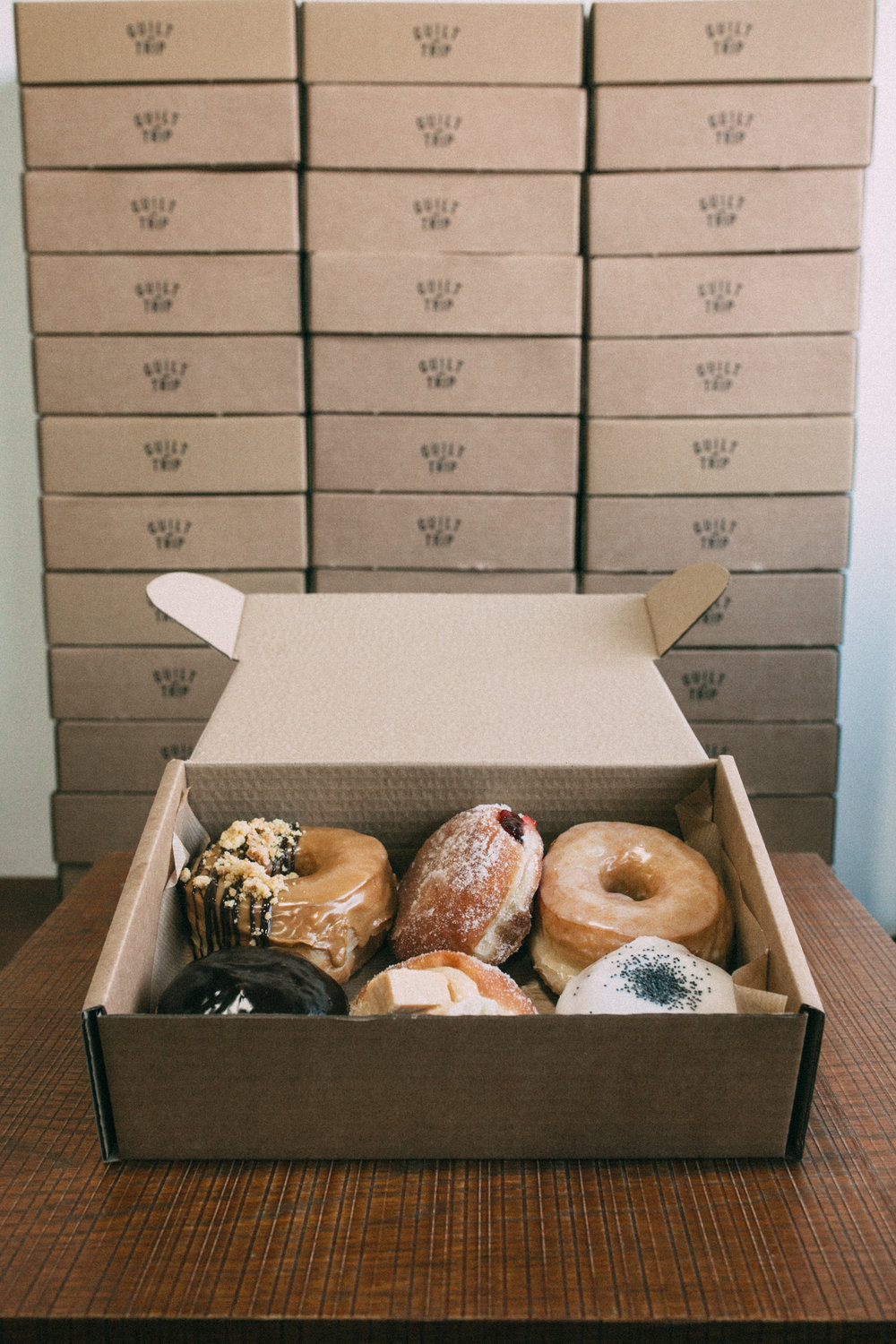 Guilt Trip Coffee Donuts