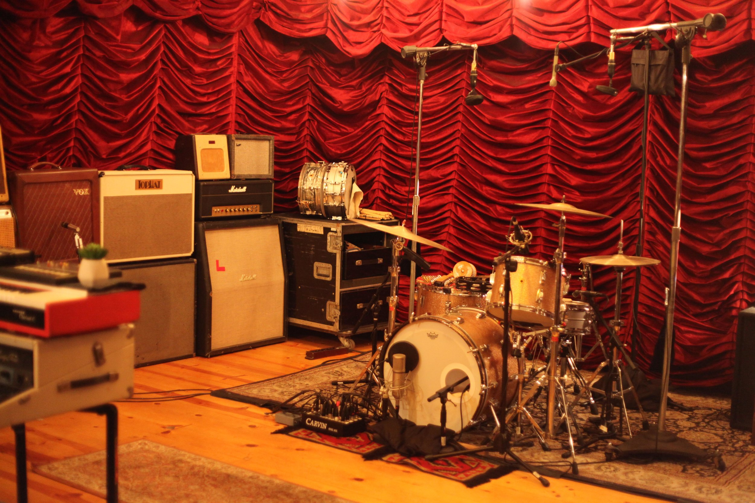 The Velveteen Laboratory - Taylor's recording studio in the heart of Los Feliz