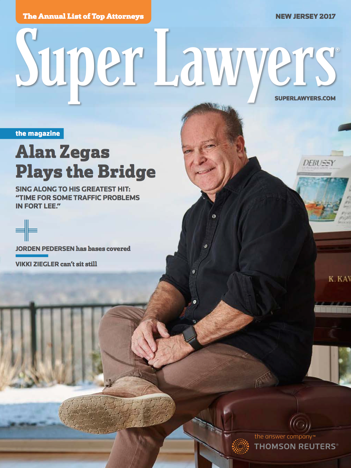 Alan graces the cover of 2017's Super Lawyers magazine. - Click here to read the feature story.