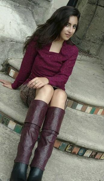 Andrea in Burgundy Reptile.jpg