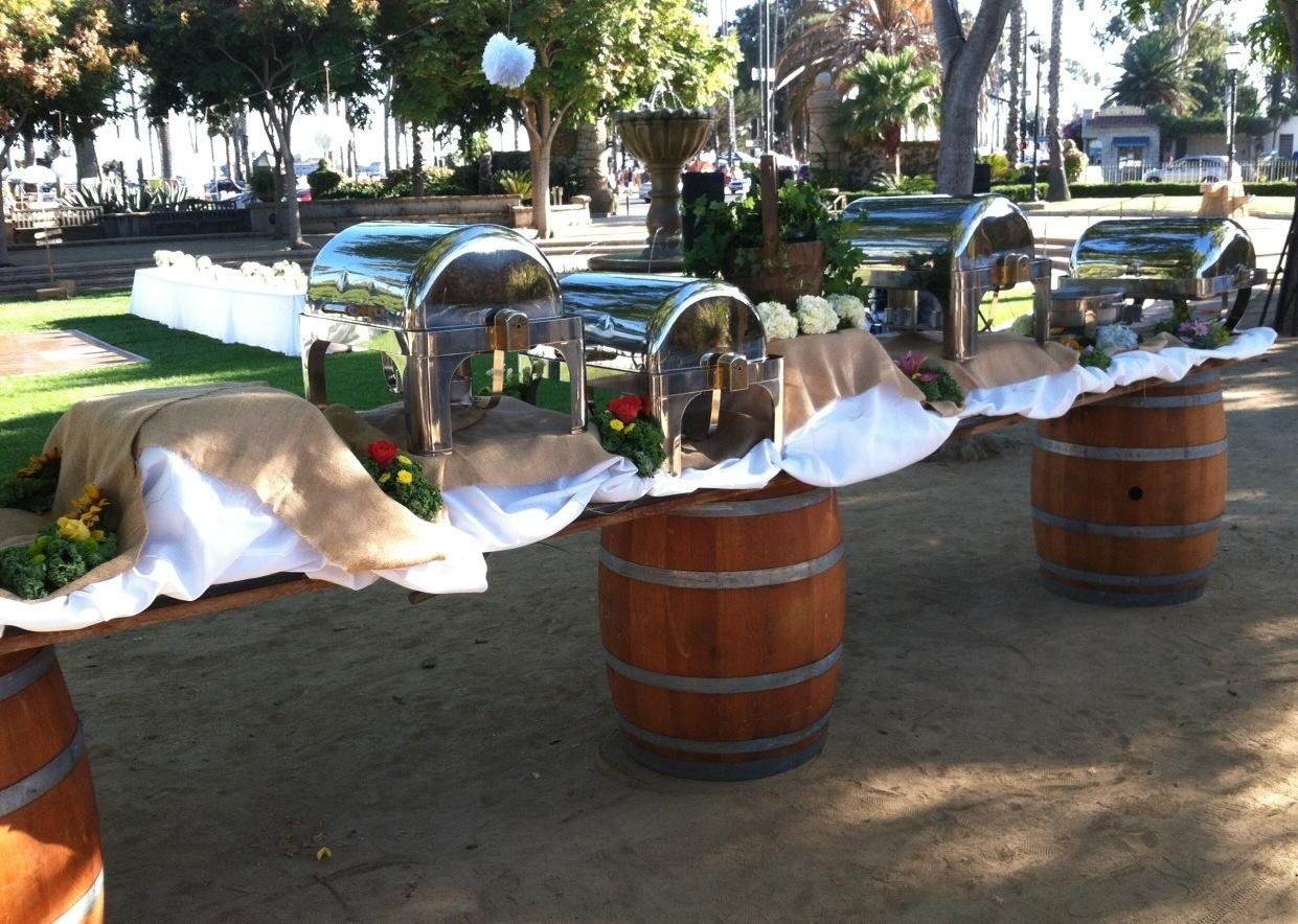 Buffet on Wine Barrels.jpg