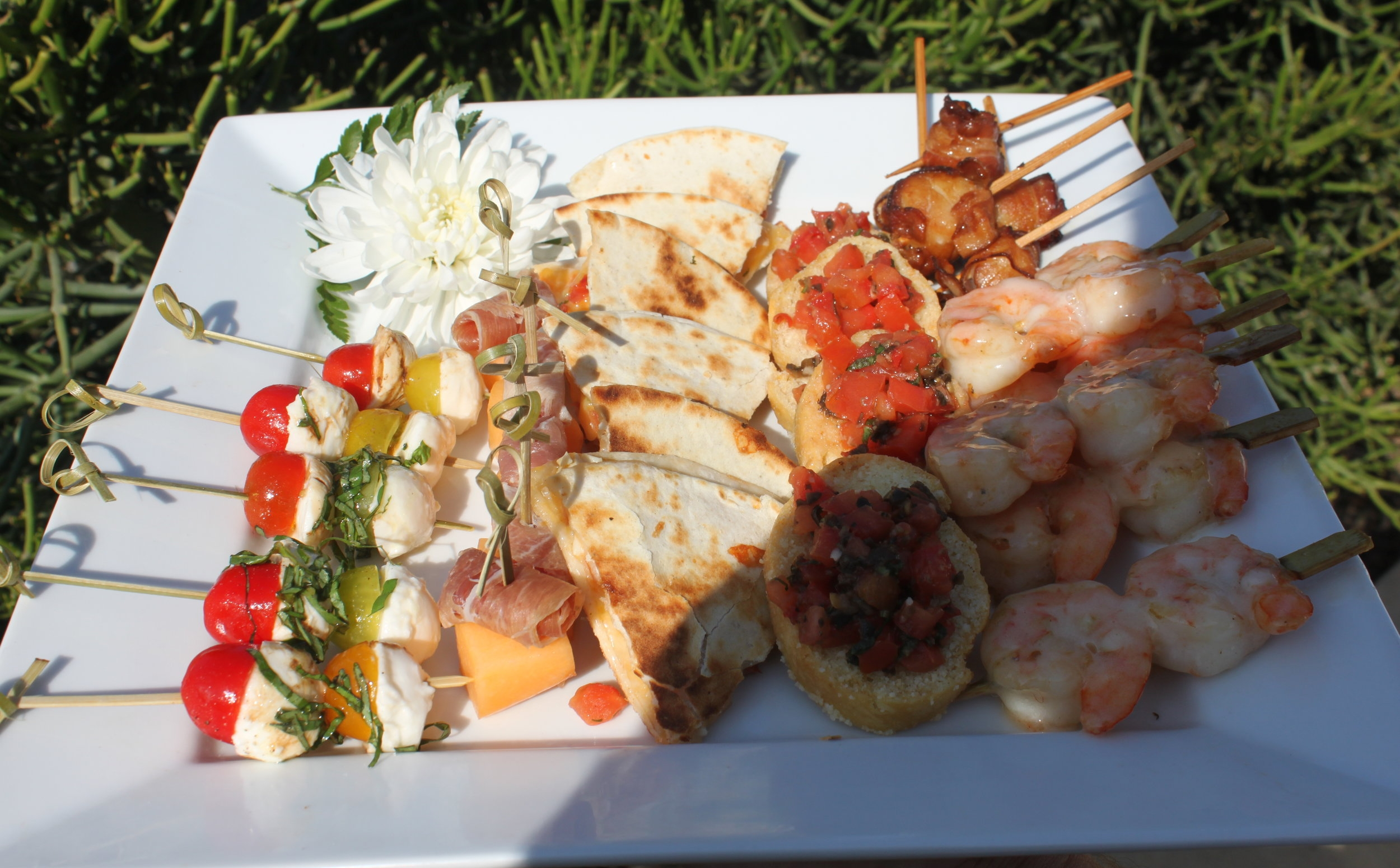 Assorted Tray Passed Hors D'oeuvres