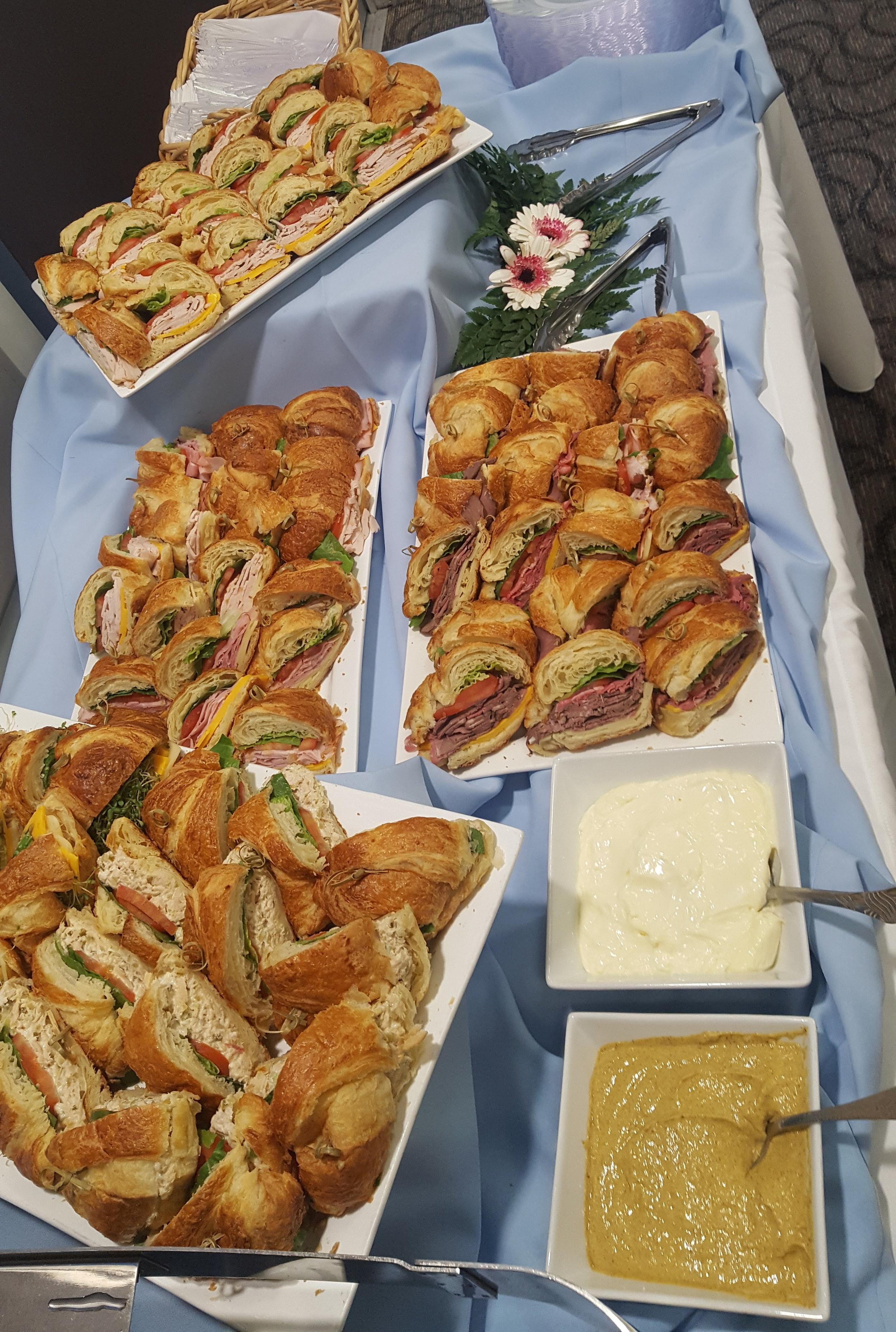 Croissant Sandwich Platter