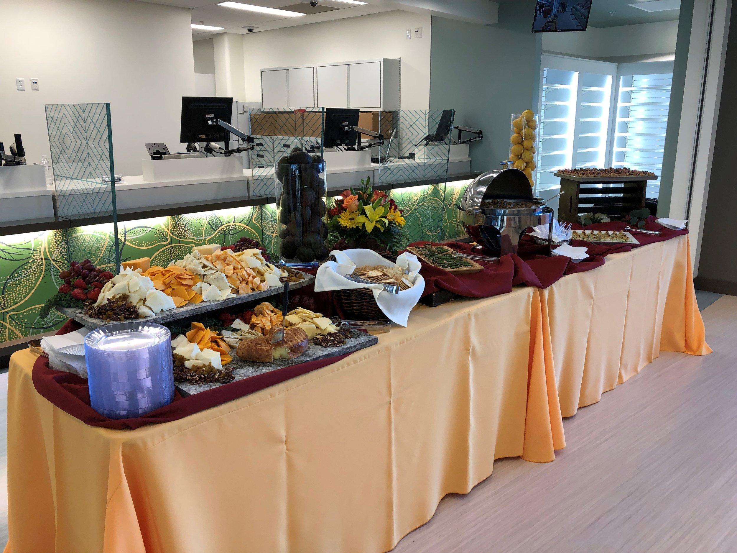 Kaiser fall theme buffet.jpg