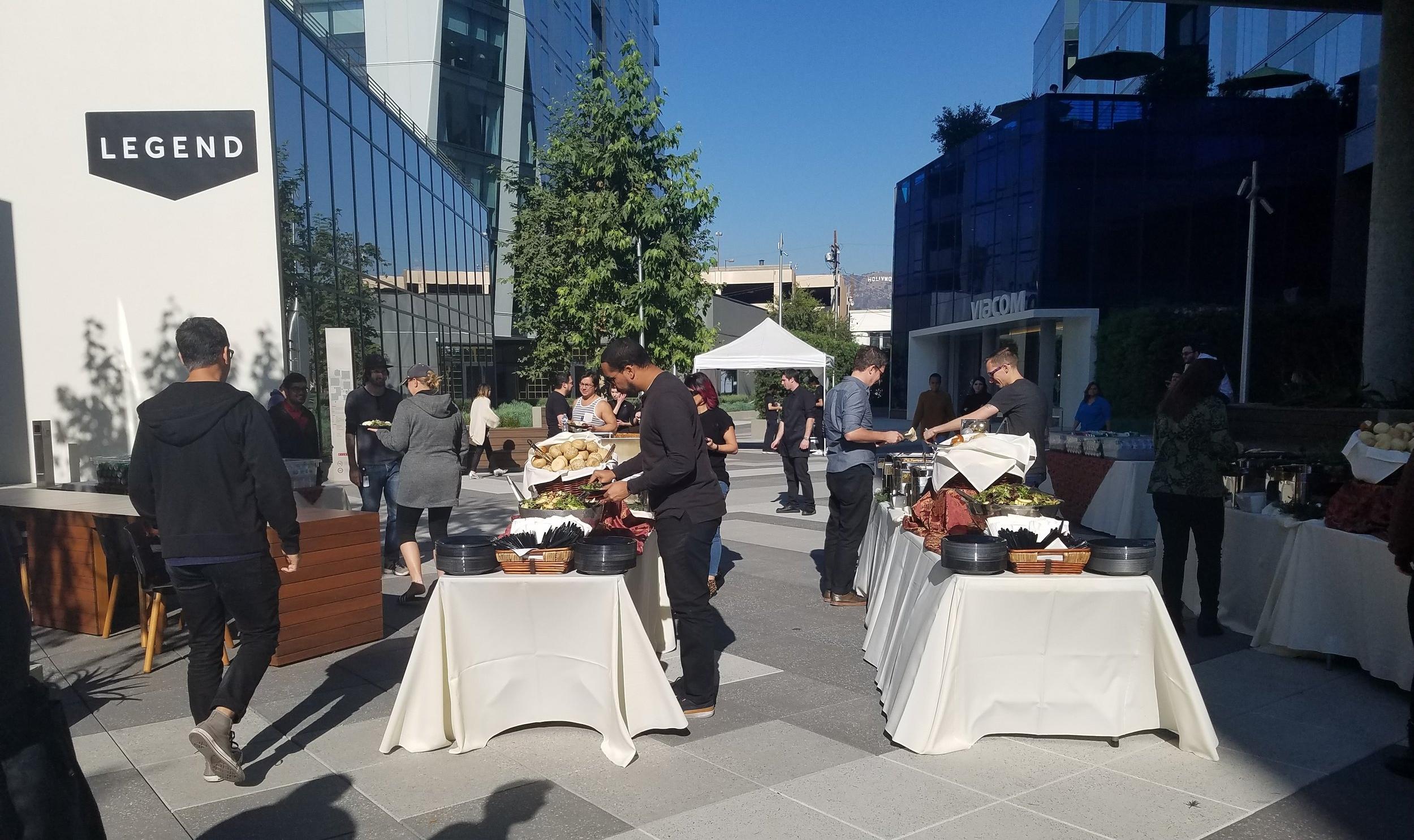 Outdoor Event Catering Service in Santa Barbara, CA