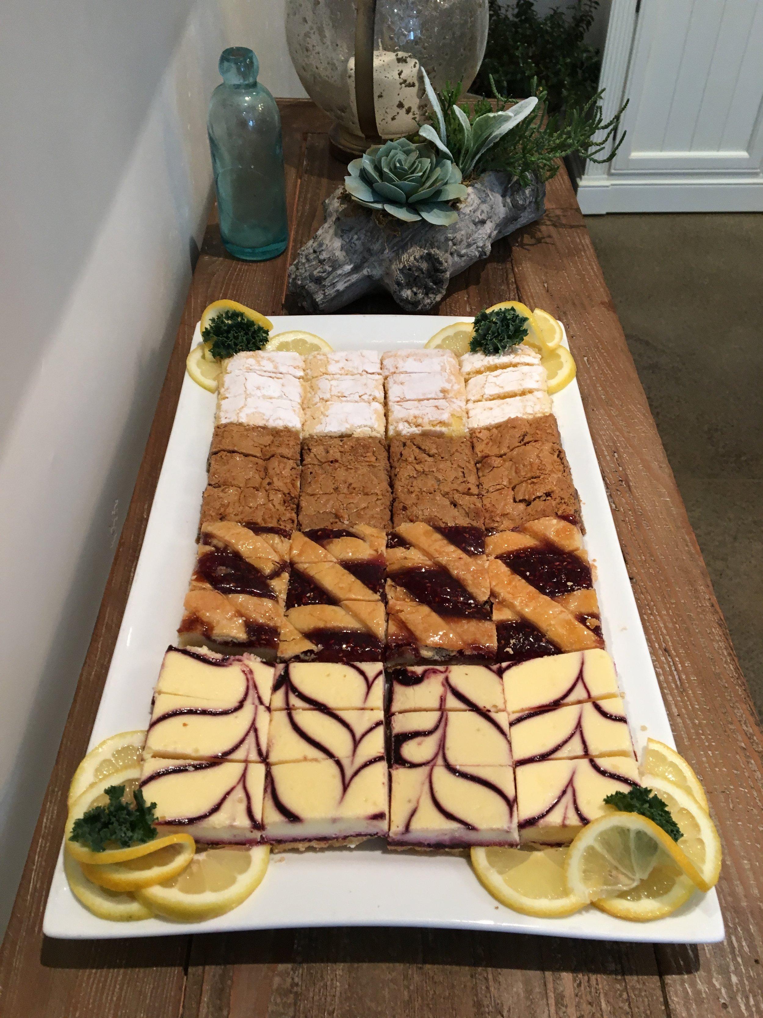 Assorted Gourmet Dessert Bars
