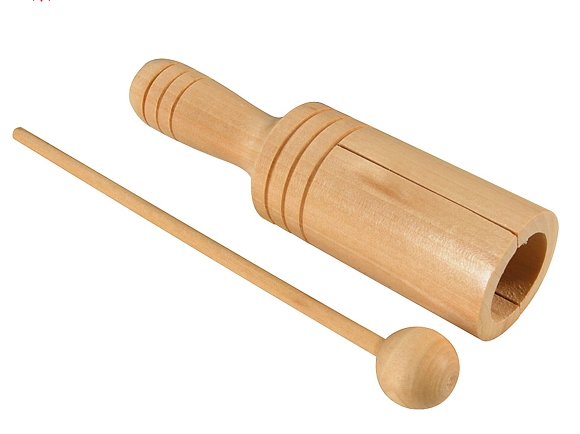 Wooden Tone Block   Small, with mallet