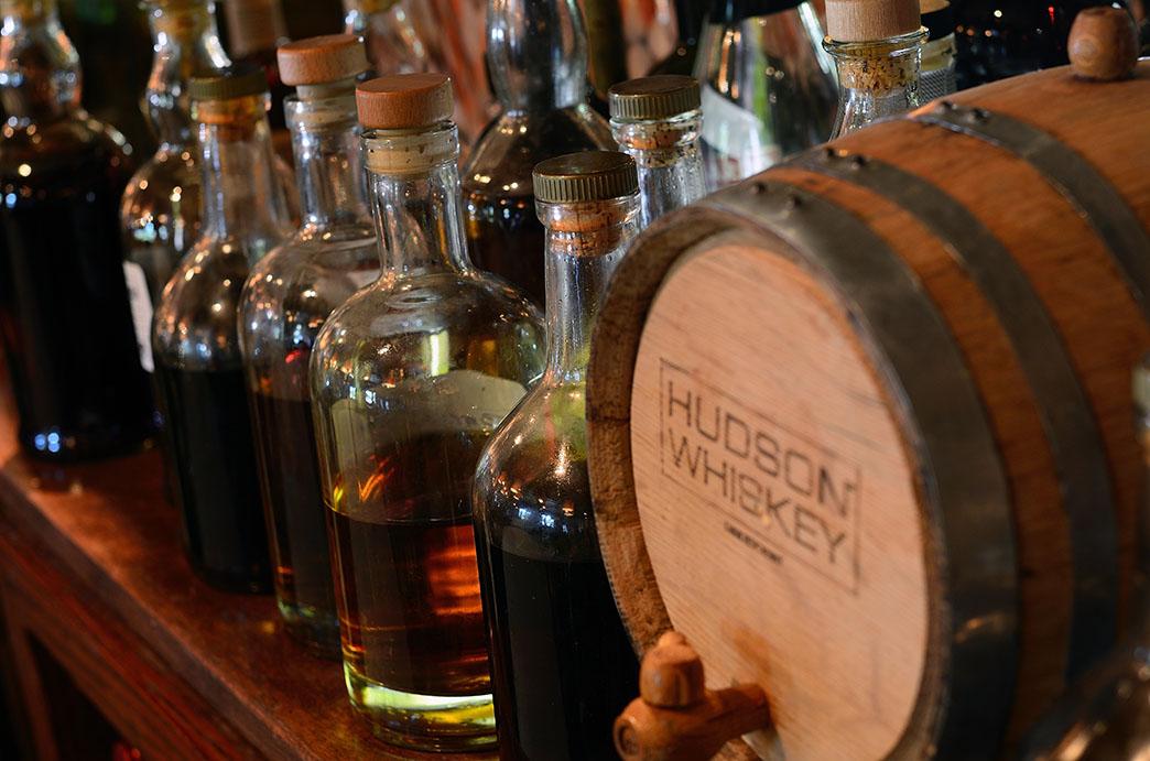Barrel-aged cocktails