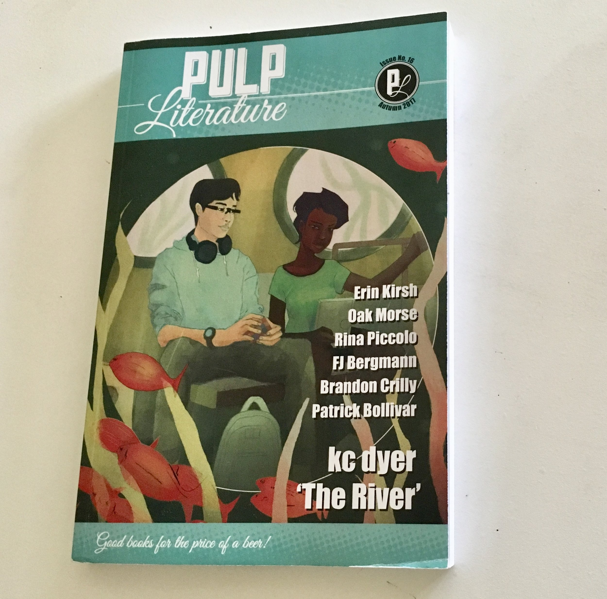Pulp Literature... fiction, art, poetry, and more...