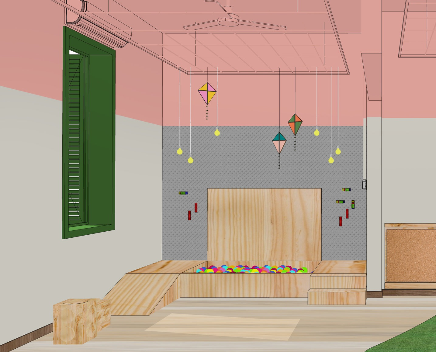 Playroom - Study for a brazilian school | Garimporio's Client