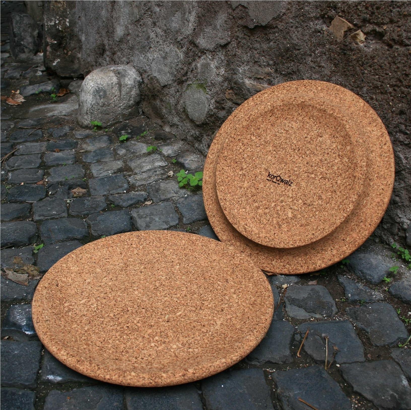 Cork platte