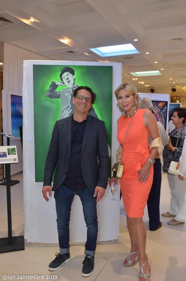Exhibition Saint-Jean Cap Ferrat with Wendy Lauwers