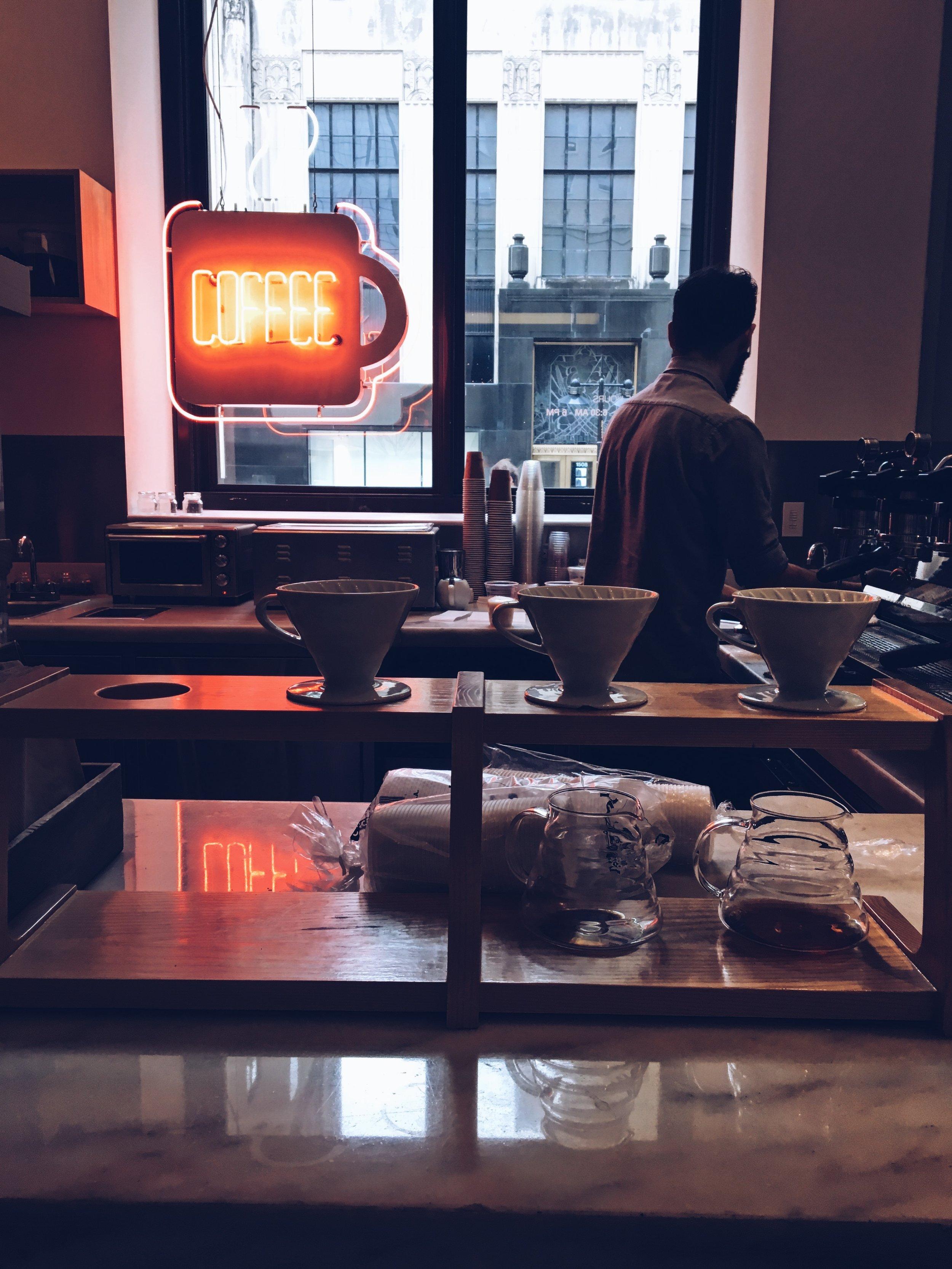 Where i am: Weekend Coffee
