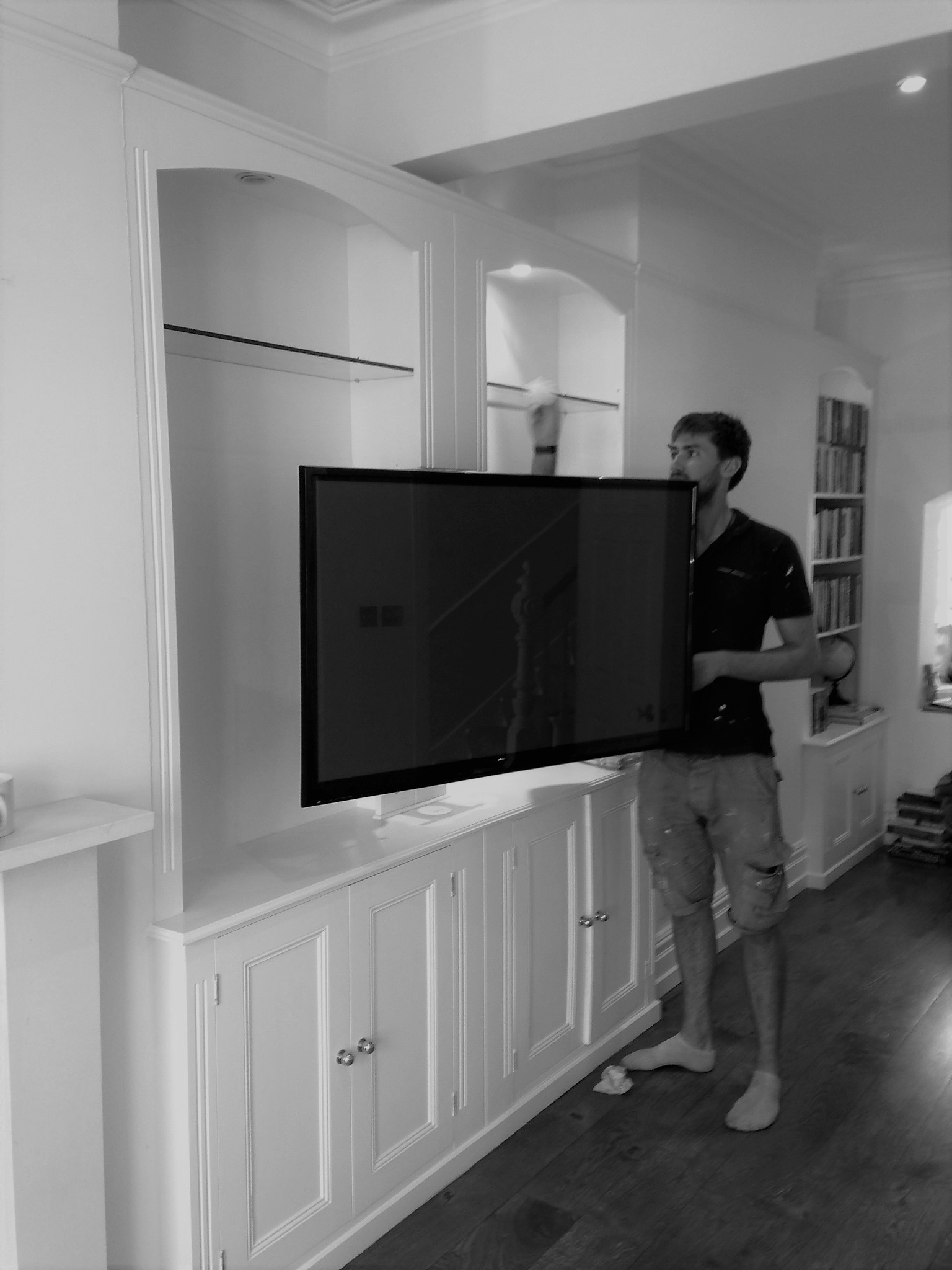 Many households are deciding to upgrade their Television. So the possibility of altering an existing unit to move forward with the times is never a problem.