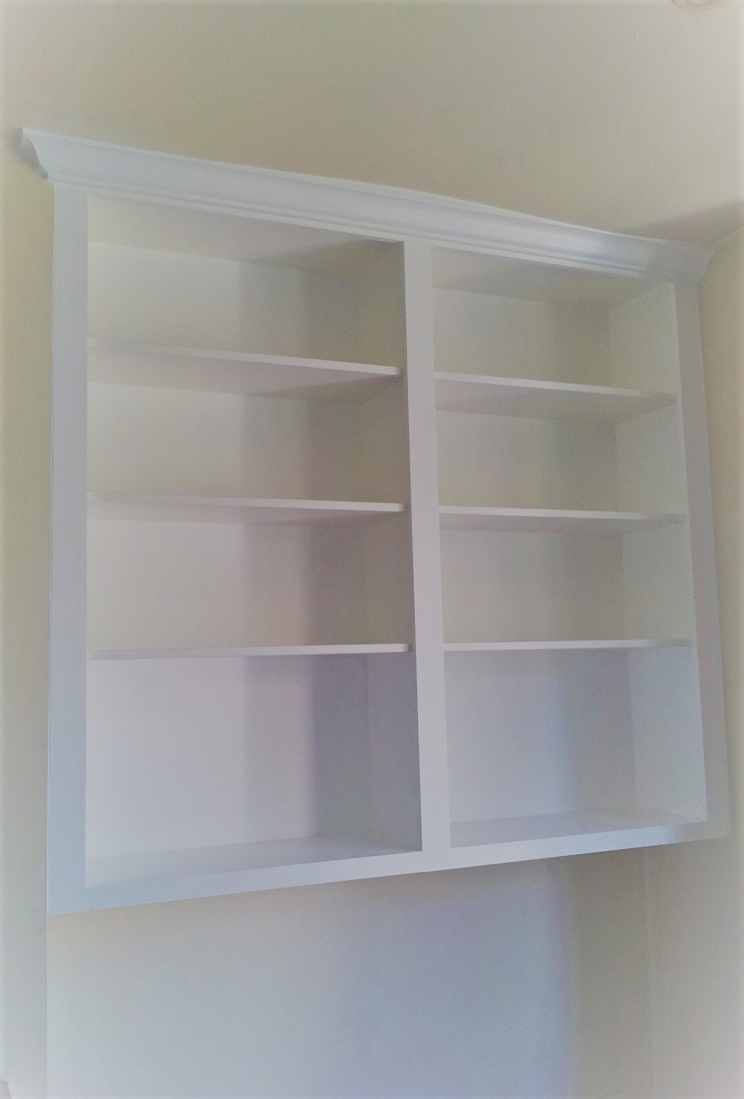 A floating Classic Bookcase.