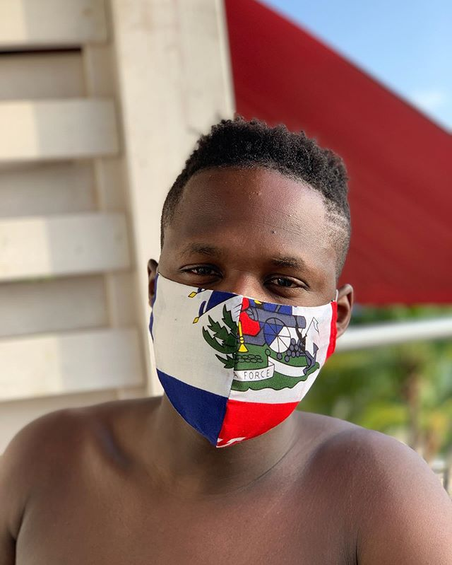 Live and direct from home. Peep the story for more footage. #Haiti #AimeUp