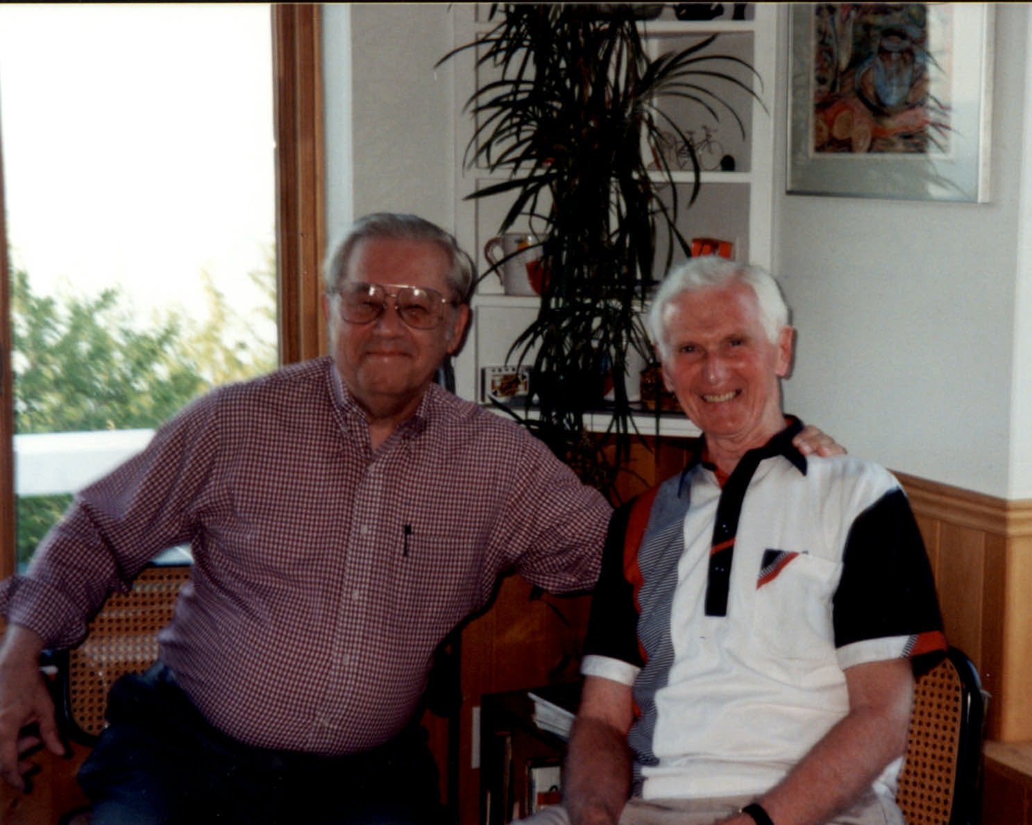 Two of my Teachers, Vincent Cichowicz and Robert Oades (Domaine Forget '96)