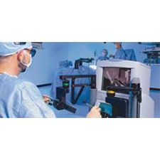COMPUTER MOTION    ROBOTIC SURGERY   Patton Design's expertise in human computer interaction creates surgeon-controlled endoscopic robotic device for thoracic and cardiac surgery.