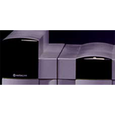 HITACHI    THE POWER OF DESIGN   Modular super computer system integrates aesthetics and user simplicity