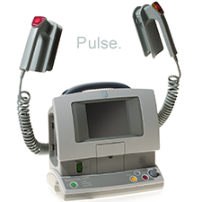 G.E. MEDICAL    EASY AS 1-2-3   Patton design creates the first defibrillator that requires only three button pushes. Saving lives has never been easier