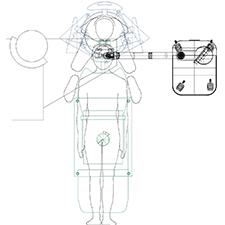 INTRALASE    OPERATING ROOM ERGONOMICS    Patient surgeon interface focusing on the eye.