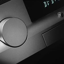NIRO    CASCADING CURVES AND SOUND   An ergonomically designed Audiophile with cascading forms of curves and sound.