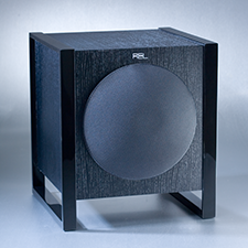 SUMIKO    GEOMETRIC SOUND   Sumiko REL Power Cube bass speaker.