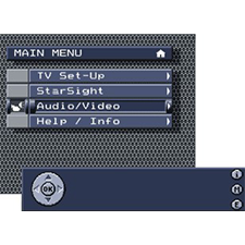 LEOWE    AWARD WINNING   An easy-to-use television interface for new German import.