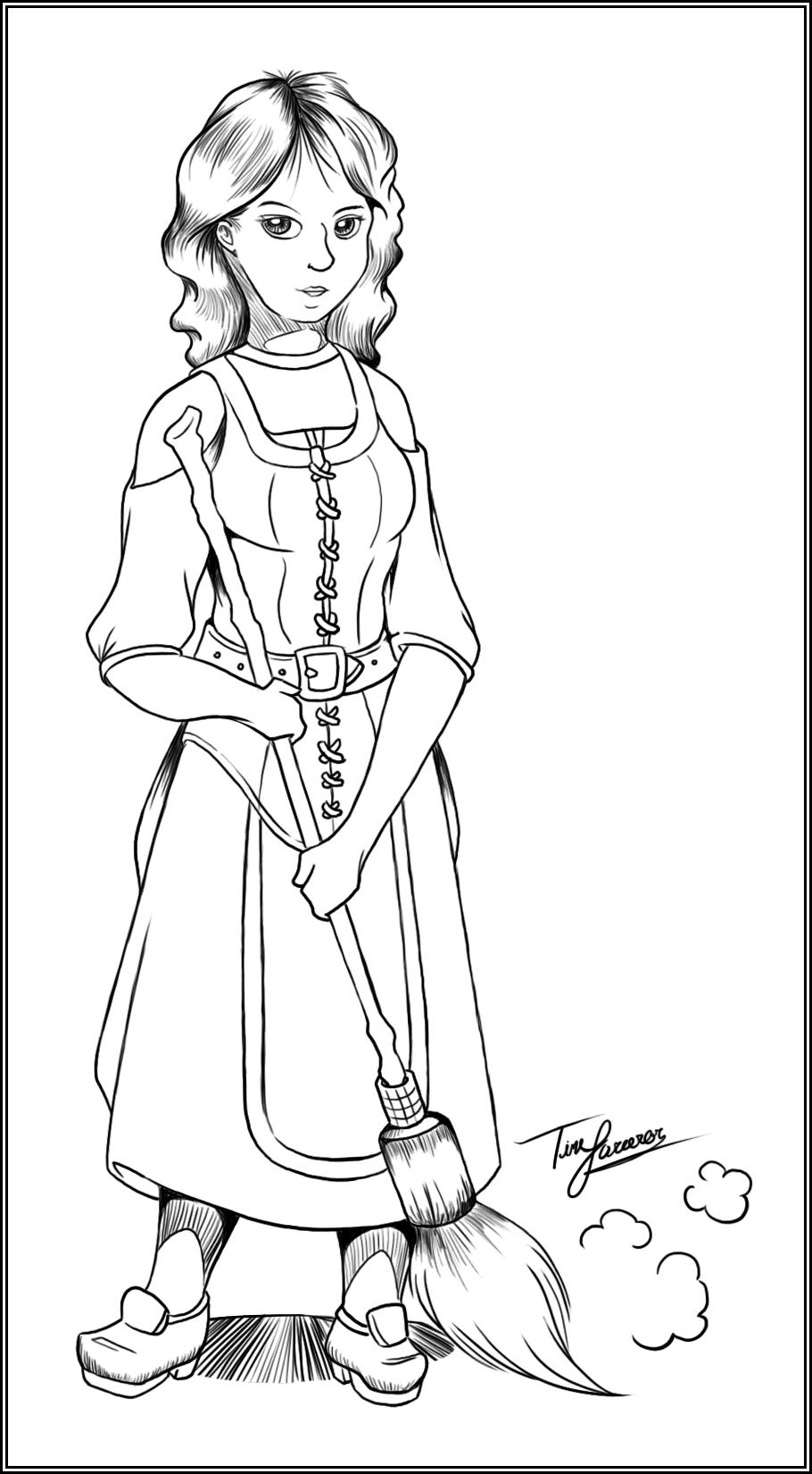Day 6: Favorite Female Character in DA2 (Lirene)