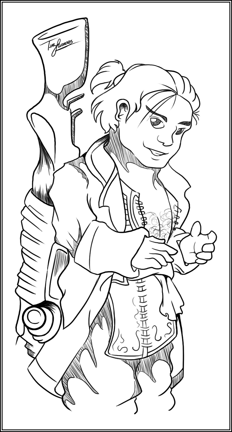 Day 11: Favorite Dwarf in DA:O, DA2, or DA:I (Varric Tethras)