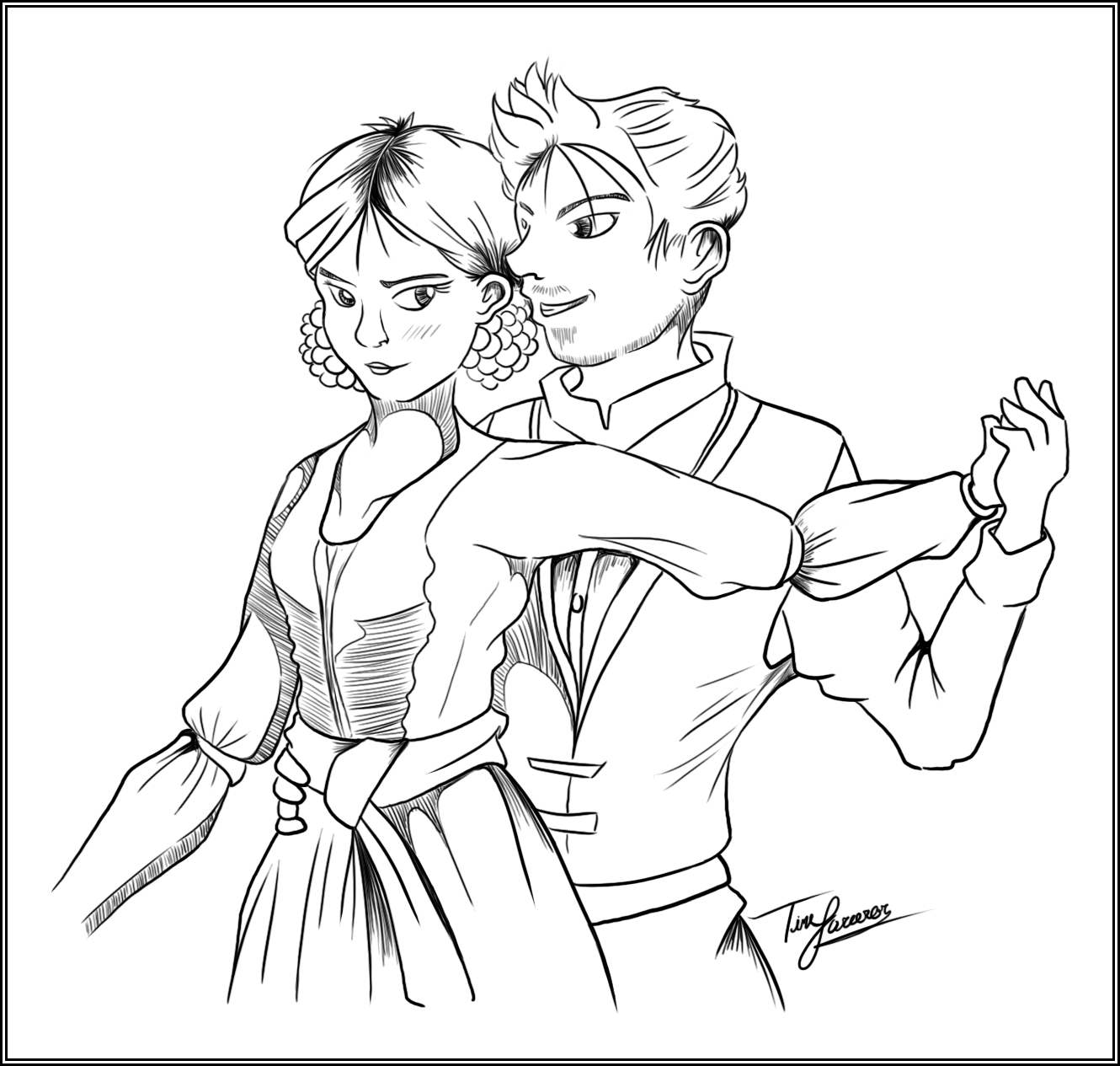 Day 12: King Alistair and Queen Anora
