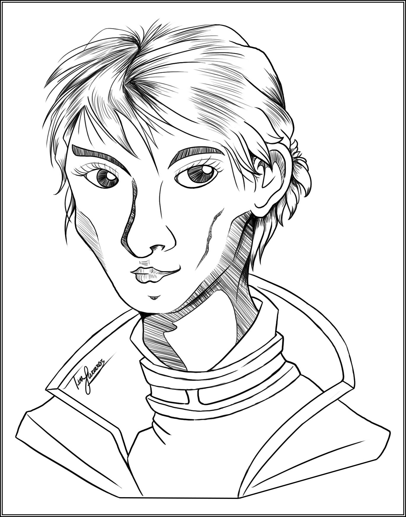 Day 13: Favorite Female Character from DA:I (Cassandra Pentaghast)