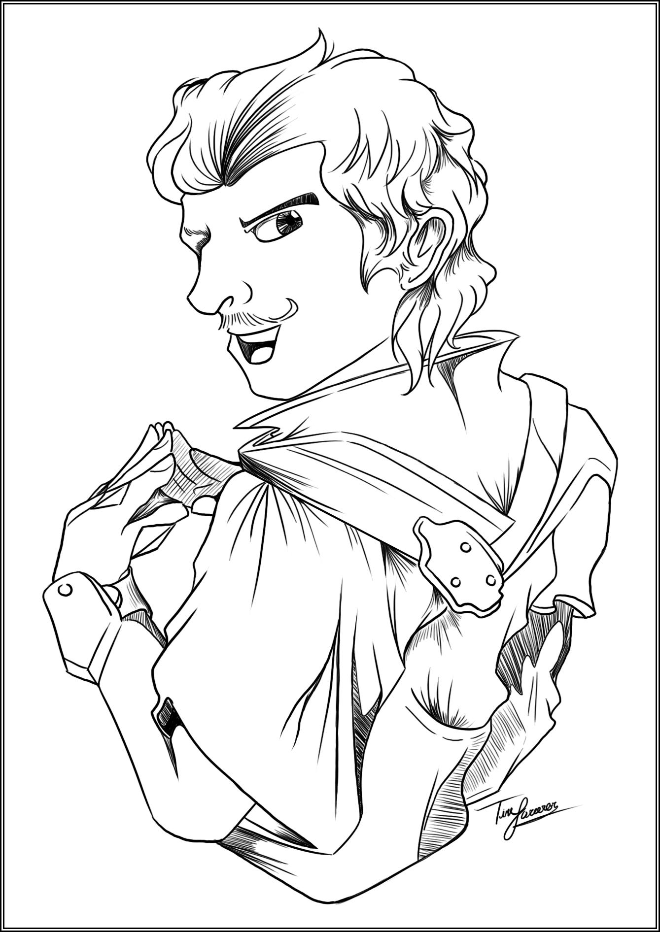 Day 15: Favorite Male Character in DA:I (Dorian Pavus)