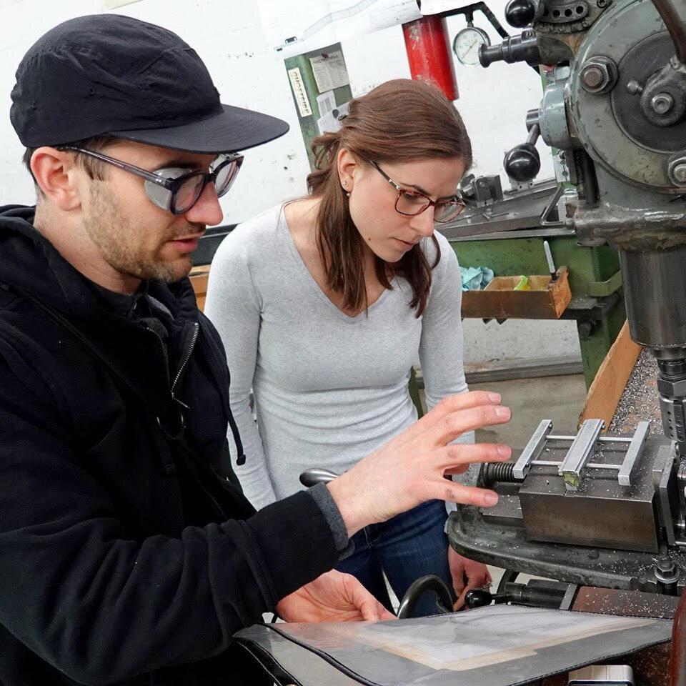 Dan C explains how he's machining the tubeset for Kelly C's race bike.