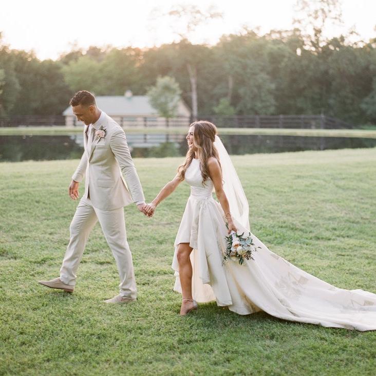 - We got married