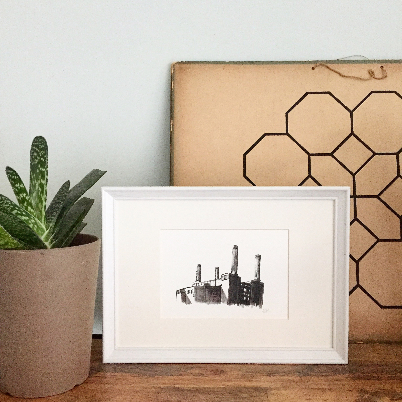 Drawn Together Art Collective Art Prints Craft Blog Art Craft Framed Prints Battersea Power Station