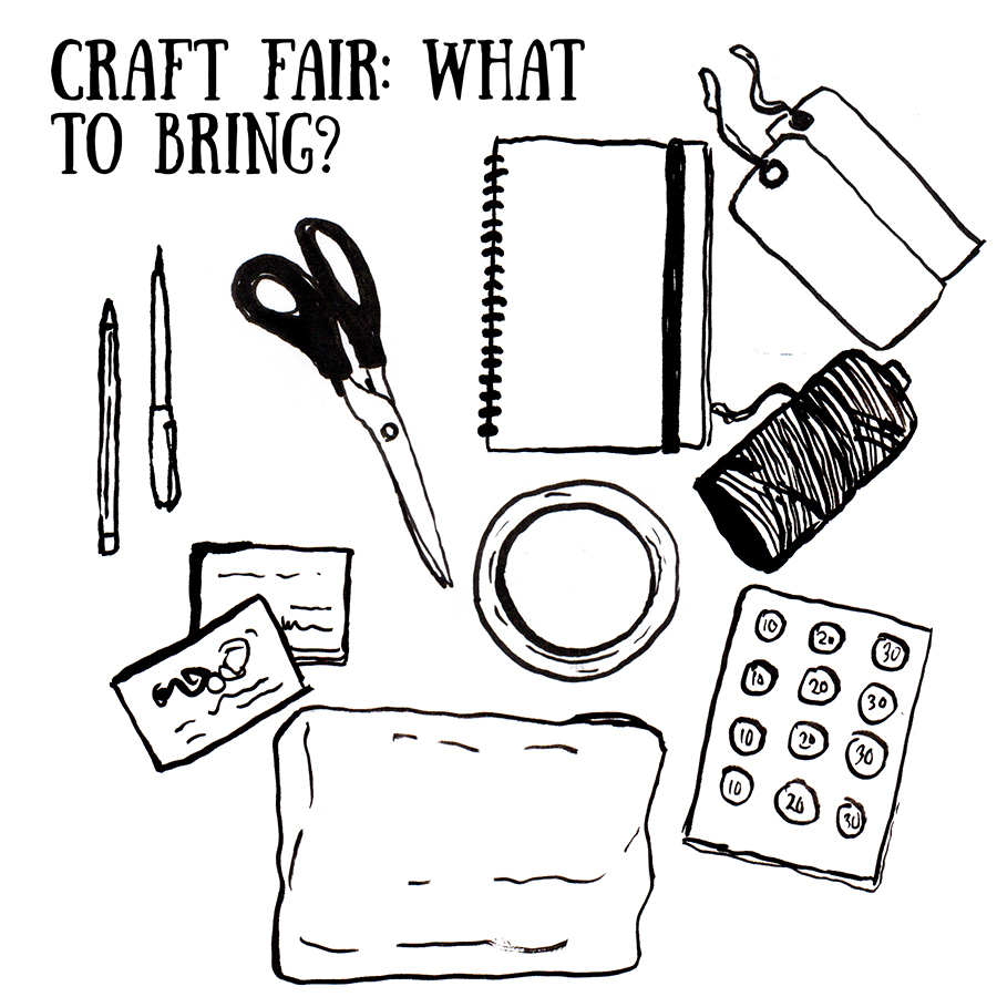 Drawn Together 10 Tips Craft Fair Success What To Bring