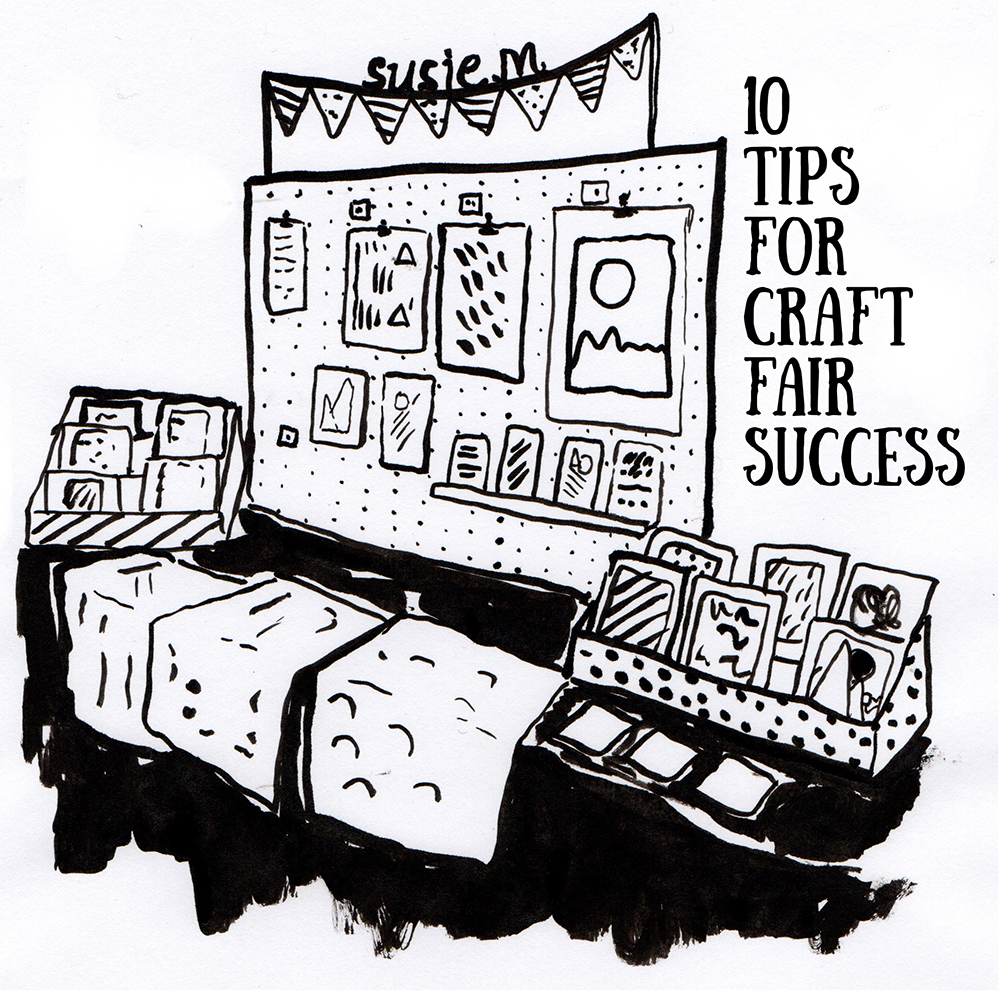 Drawn Together Craft Fair Success Stall Setup Tips Craft Fair Success